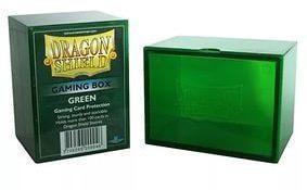 Пластиковая коробочка Dragon Shield зеленая