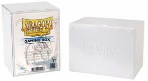 Пластиковая коробочка Dragon Shield белая