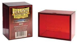 Пластиковая коробочка Dragon Shield красная