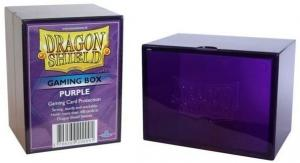 Пластиковая коробочка Dragon Shield фиолетовая