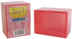 Пластиковая коробочка Dragon Shield розовая