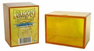 Пластиковая коробочка Dragon Shield желтая