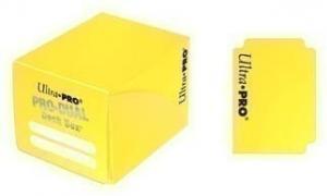 Пластиковая коробочка Ultra-Pro «Pro Dual Small - Yellow»