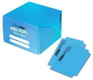 Пластиковая коробочка Ultra-Pro «Pro Dual Standard - Light Blue»