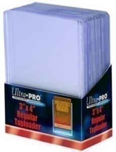 Ultra-Pro Toploaders 3x4 Clear Regular (25 шт.)