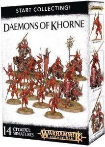 Миниатюры Warhammer 40000: Start Collecting! Daemons of Khorne
