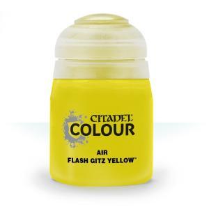 Краска для аэрографа: Flash Gitz Yellow 28-20 (24ml)