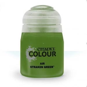 Краска для аэрографа: Straken Green 28-30 (24ml)