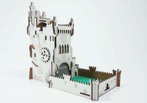 Башня для бросания кубиков - Белый замок