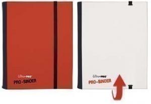 Альбом Ultra-Pro PRO-Binder с 20 листами 2х2 (Красно-белый)