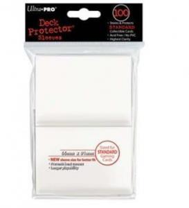 Цветные протекторы Ultra-Pro - Белые (100 шт.)