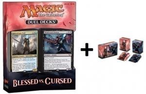 MTG: Дуэльный набор «Blessed vs. Cursed» + коробочка