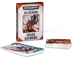 Warhammer 40K: Набор карточек Демонов Хаоса