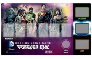 DC Comics Deck Building Game: Forever Evil - игровое поле