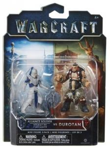 Набор Action-фигурок Warcraft - Дуротан и Солдат Альянса (2 шт)