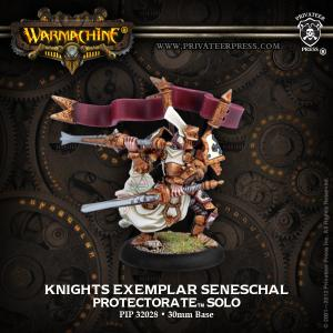 The Protectorate of Menoth: Knights Exemplar Seneschal