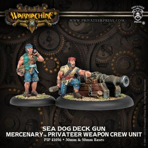 Mercenaries: Sea Dog Deck Gun Crew