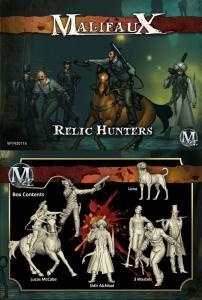Malifaux: Relic Hunters Crew