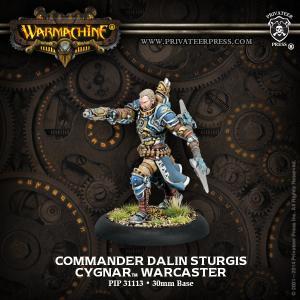 Cygnar: Commander Dalin Sturgis