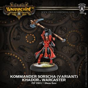 Khador: Kommander Sorscha (Variant)