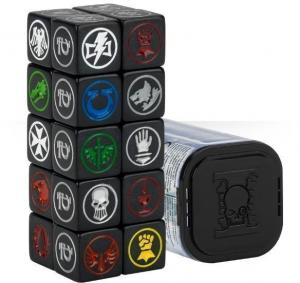 Warhammer: набор кубиков Deathwatch