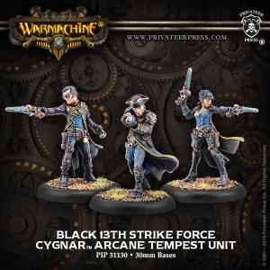 Cygnar: Black 13th Strike Force