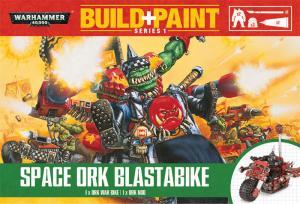 Миниатюры Warhammer 40000: Space Ork Blastabike (на английском языке)