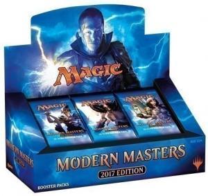MTG: Дисплей бустеров издания Modern Masters 2017 на английском языке