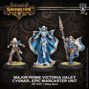 Cygnar: Major Prime Victoria Haley