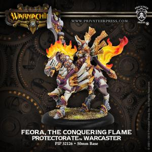 The Protectorate of Menoth: Feora, The Conquering Flame