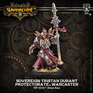 The Protectorate of Menoth: Sovereign Tristan Durant