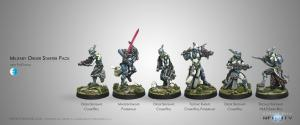 Infinity: Military Order (PanOceania Sectorial Starter Pack)