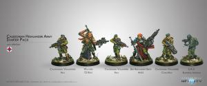 Infinity: Caledonian Highlander Army (Ariadna Sectorial Starter Pack)