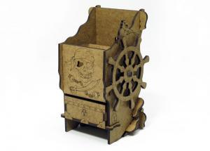 Башня для бросания кубиков - Пиратская