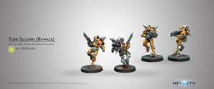 Infinity: Tiger Soldiers (Spitfire/ Boarding Shotgun)