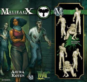 Malifaux: Asura Roten