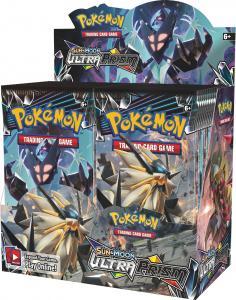 Pokemon Sun & Moon: Дисплей бустеров издания «Ultra Prism» (на английском)