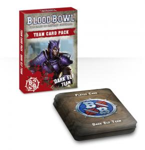 Blood Bowl: Dark Elf Team Cards