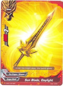 Promo BUDDYFIGHT: Sun Blade, Daylight