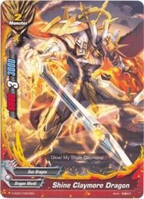 Promo BUDDYFIGHT: Shine Claymore Dragon