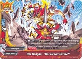 Promo BUDDYFIGHT: Bal Dragon, Bal Grand Strike