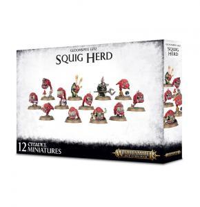 Миниатюры Age of Sigmar: Gloomspite Gitz Squig Herd