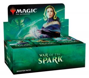 MTG: Дисплей бустеров издания War of the Spark на английском языке