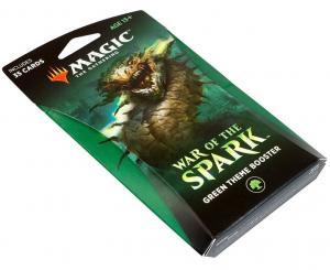 MTG: Тематический Зелёный бустер издания War of the Spark на английском языке