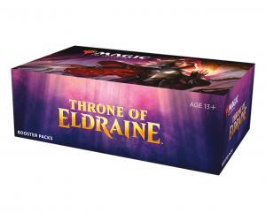MTG: Дисплей бустеров издания Throne of Eldraine на английском языке