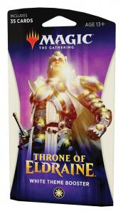 MTG: Тематический Белый бустер издания Throne of Eldraine на английском языке