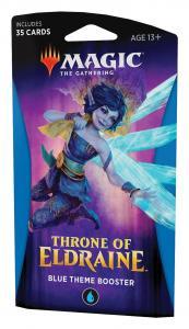 MTG: Тематический Синий бустер издания Throne of Eldraine на английском языке