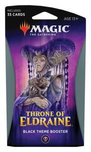 MTG: Тематический Чёрный бустер издания Throne of Eldraine на английском языке