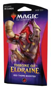 MTG: Тематический Красный бустер издания Throne of Eldraine на английском языке