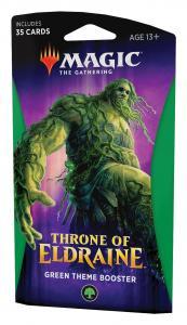 MTG: Тематический Зелёный бустер издания Throne of Eldraine на английском языке